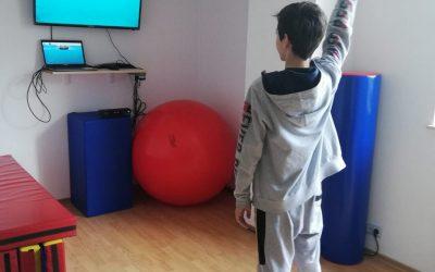 Tehnologia permite continuarea activităților de recuperare pentru copiii cu dizabilități  din Sectorul 6