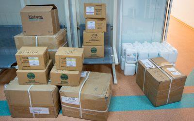 Autoritățile locale din Sectorul 6 continuă donațiile către unitățile spitalicești