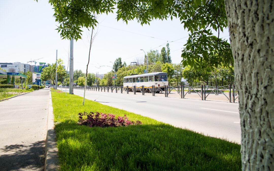 Lucrările de modernizare a Bulevardului Vasile Milea au fost finalizate – Zeci de noi locuri de parcare, trotuare reabilitate și spații verzi refăcute integral