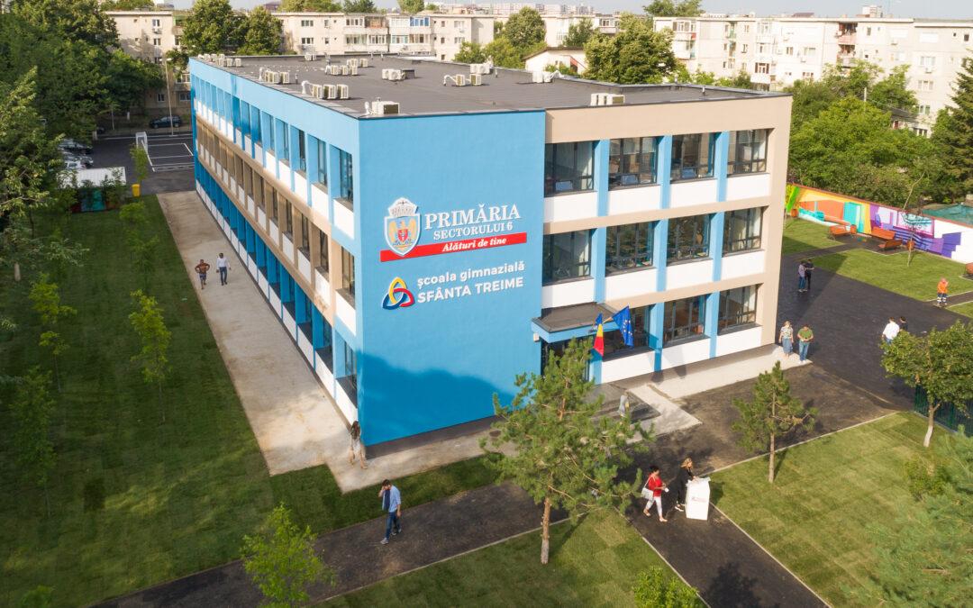 """Școala Gimnazială """"Sf. Treime"""" din Sectorul 6  devine cea mai modernă unitate de învățământ din Capitală!"""