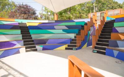 În Sectorul 6 a fost inaugurat primul Amfiteatru construit în aer liber, în incinta unei unități de învățământ