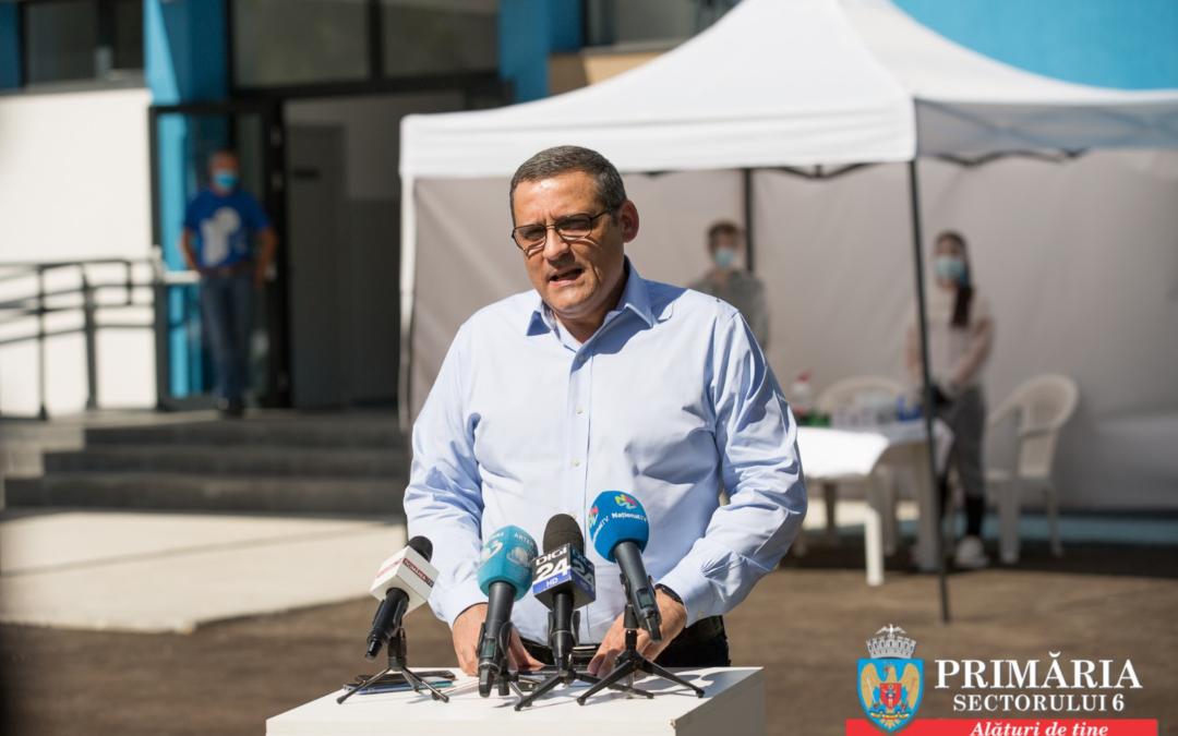 """Primăria Sectorului 6 a lansat campania """"Votează în siguranță!"""" Corturi tehnice pentru alegerile din 27 septembrie 2020"""