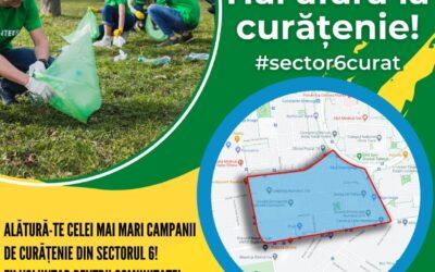 Începe campania de curățenie în Sectorul 6!