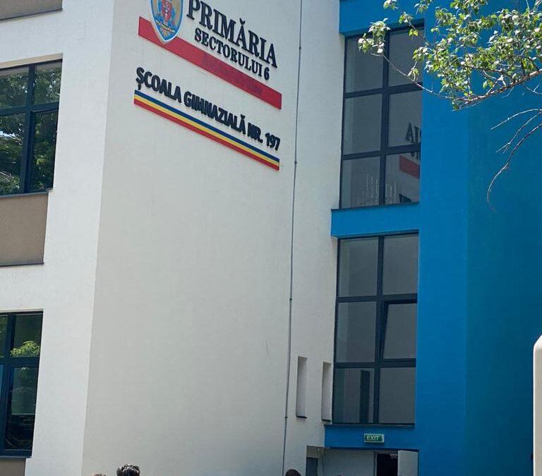 Trei dintre cele cinci unități aflate în proces de modernizare și reabilitare termică (NZEB), reiau cursurile cu prezența fizică a elevilor