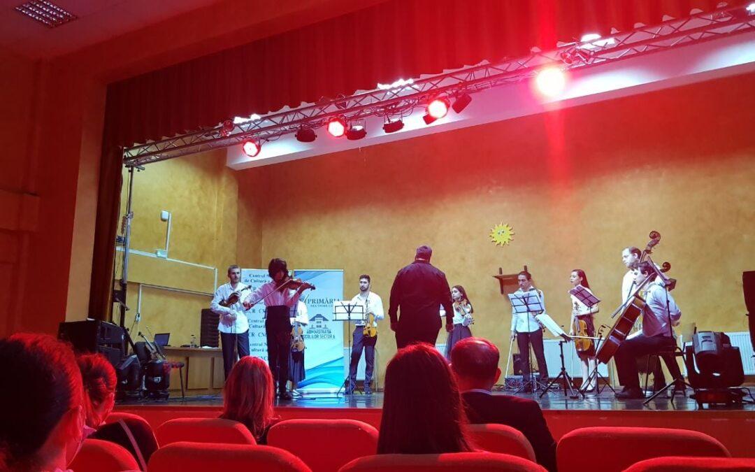 """Concertul de muzică clasică """"Tinere talente rome"""" 2021"""