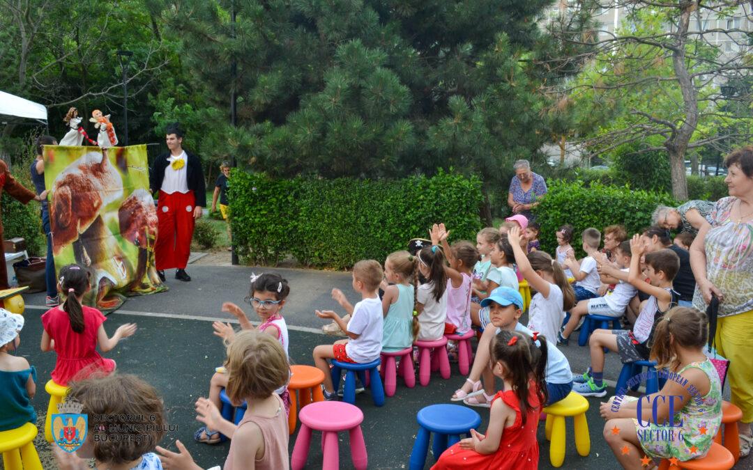 Parcurile Marin Preda și Tudor Vladimirescu în lumea copiilor