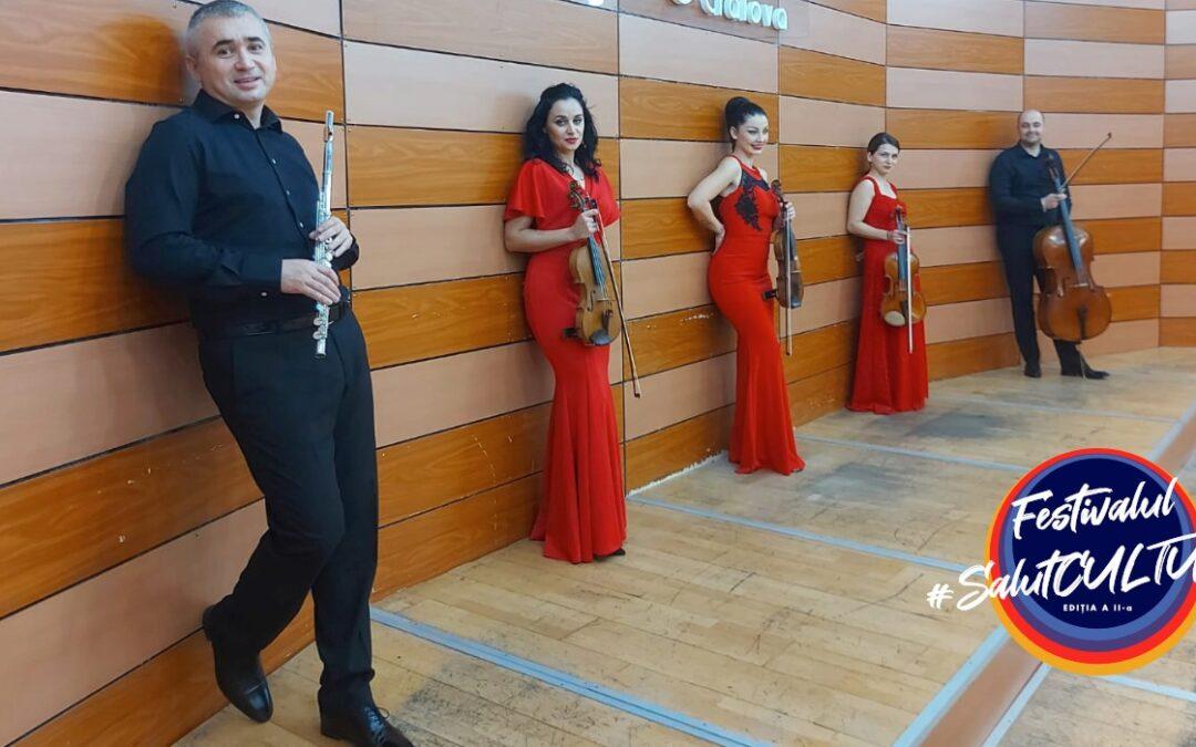 Festivalul SalutCULTURA!, ediția a doua – de la Clasic la Jazz se încheie sâmbătă cu un concert al  Millennium Arts Ensemble