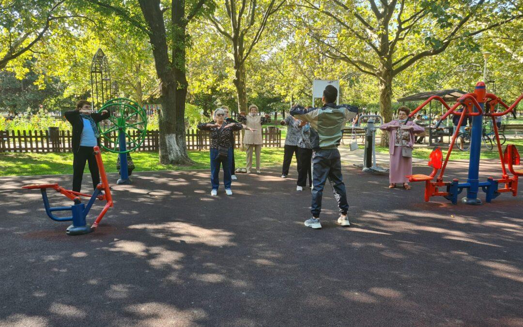"""""""Mișcare pentru sănătate"""" în parcul de lângă tine"""